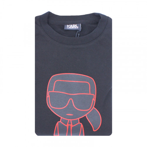 Sweat Dessin Rouge Karl Lagerfeld pour homme 1
