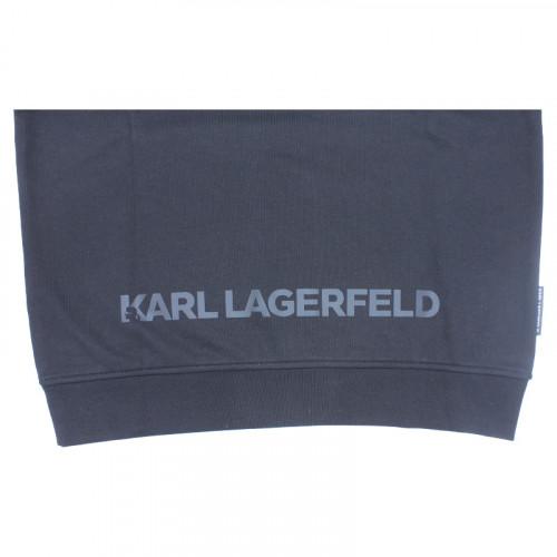 Sweat Dessin Noir Karl Lagerfeld pour homme 2
