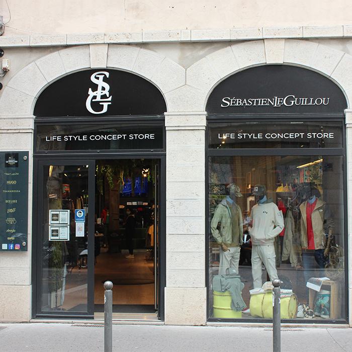 Slg concept store Lyon boutique multi marques haut de gamme