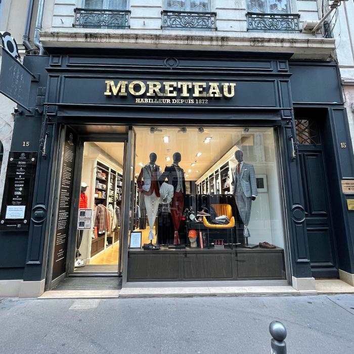 boutique Moreteau Lyon costume sur mesure